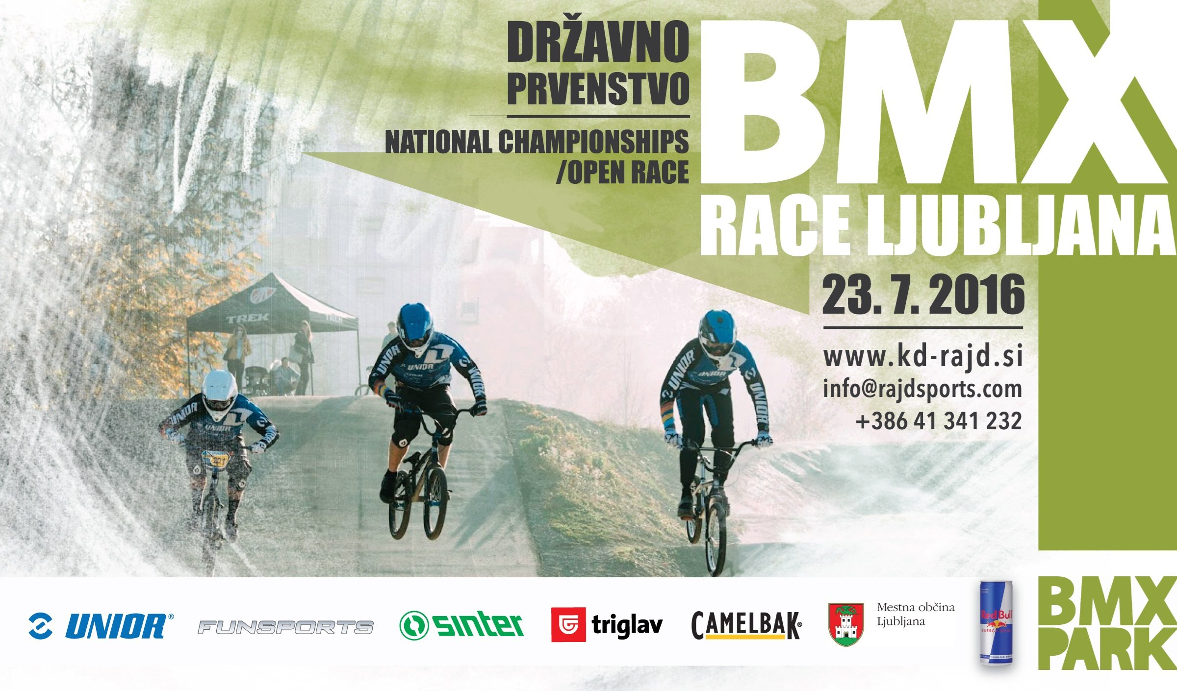 BMX Rajd Race Ljuljana